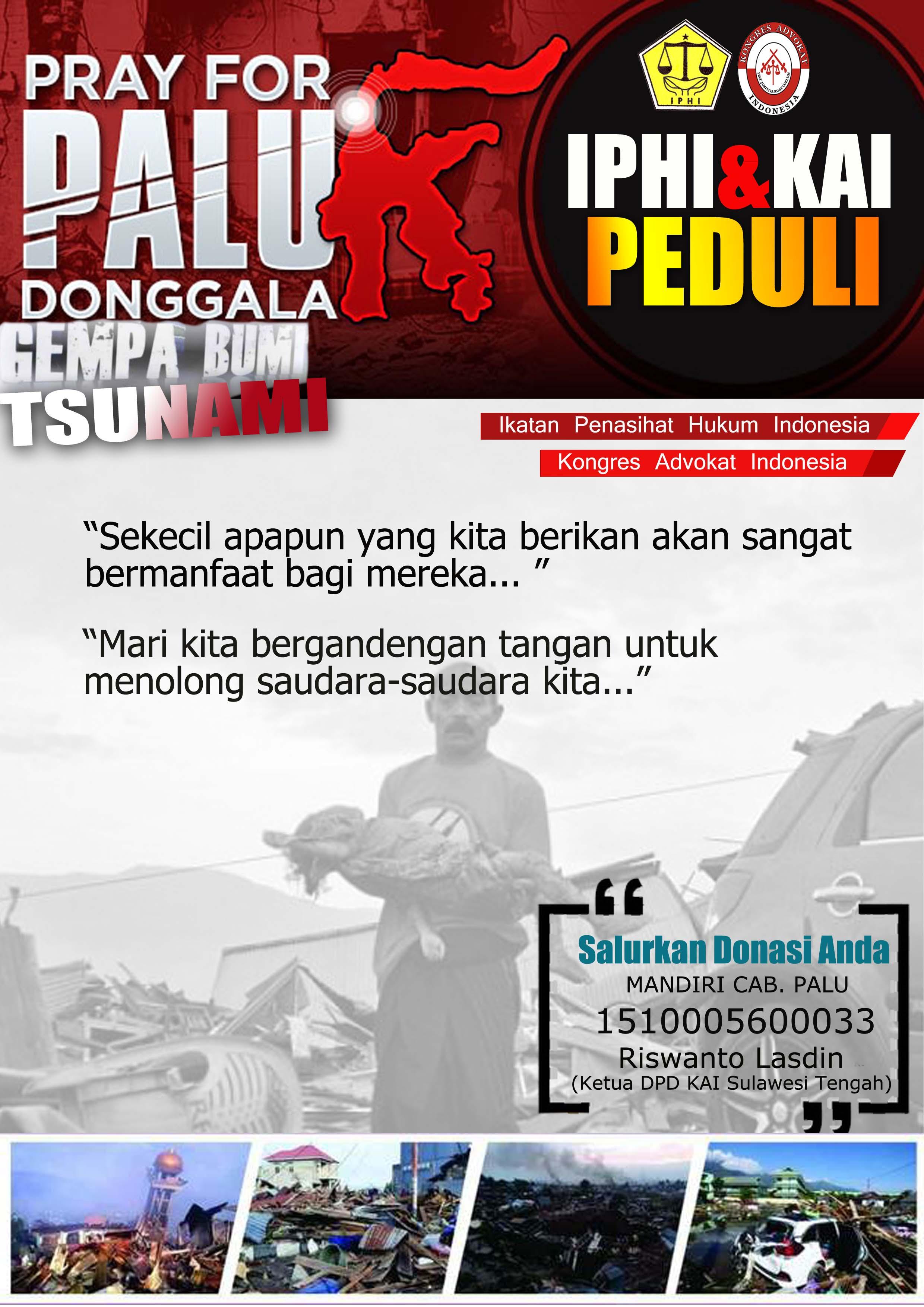 Pray for Palu Donggala