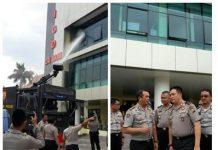 Berita Kepulan Asap Dari Gedung Lantai Tiga IRD RS Bhayangkara Polda Jatim 20181107 071948